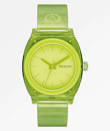 Nixon Medium Time Teller Lime Analog Watch