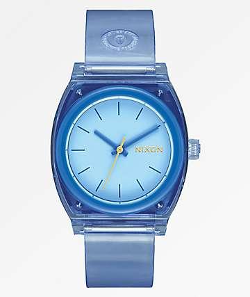 Nixon Medium Time Teller Periwinkle Analog Watch