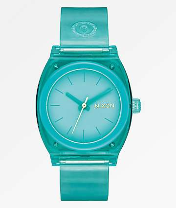 Nixon Medium Time Teller Turquoise Analog Watch