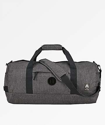Nixon Pipes II All Black 34L Duffle Bag