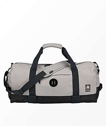 Nixon Pipes II Khaki & Black Duffle Bag