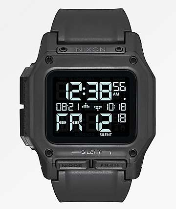 Nixon Regulus All Black Watch