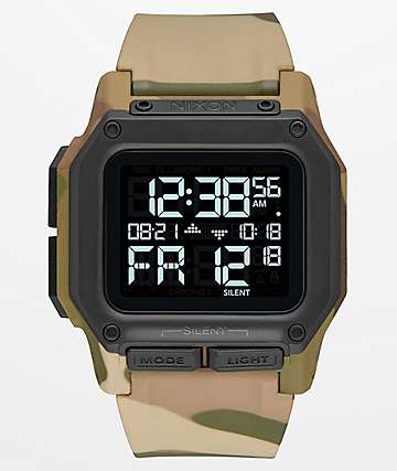 Nixon Regulus Multi-Camo Watch