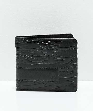Nixon Showoff Dark Tiger Camo Bi-Fold Wallet