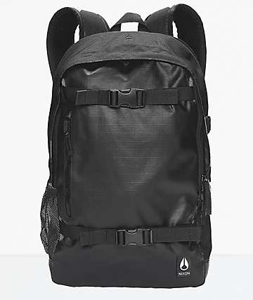 Nixon Smith III Black Skatepack 21L Backpack