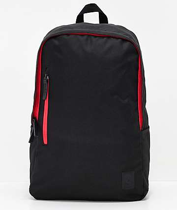 Nixon Smith SE II Black & Red Backpack
