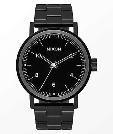 Nixon Stark All Black Analog Watch