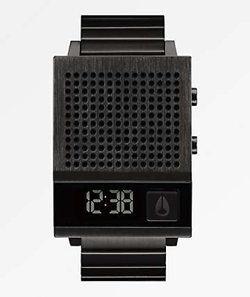 Nixon The Dork Too Black Digital Watch