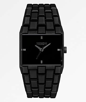 Nixon Ticket Black Analog Watch
