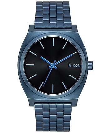 Nixon Time Teller 37 reloj azul