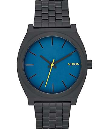 Nixon Time Teller Black & Seaport  Watch