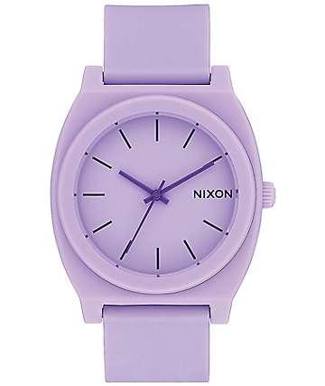 Nixon Time Teller P reloj análogo en violeta con acabado mate