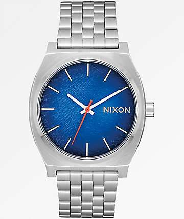 Nixon Time Teller Reflex Blue Sunray Watch