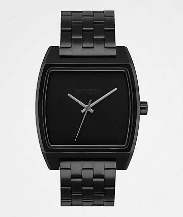 Nixon Time Tracker All Black Analog Watch