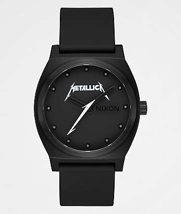 Nixon x Metallica Time Teller Classic Logo Black Watch