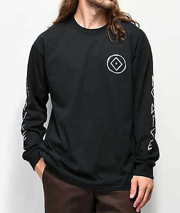 No Dice Sketchy Black Long Sleeve T-Shirt