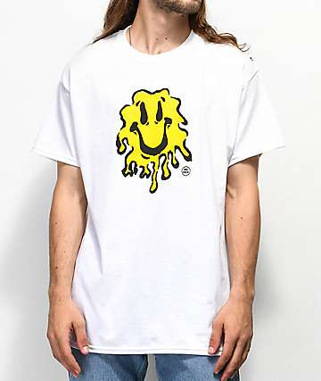 No Dice Smile White T-Shirt