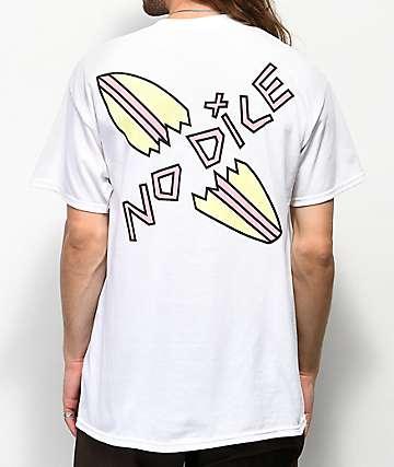 No Dice Snapped camiseta blanca