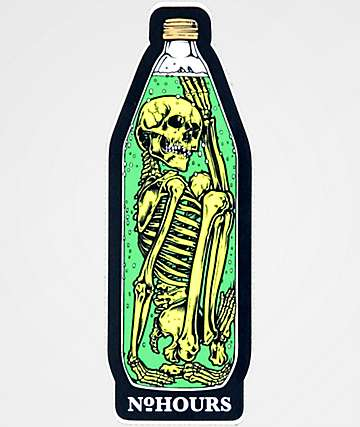 NoHours Bottle Sticker