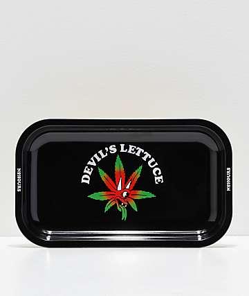 NoHours Devils Lettuce Black & Gold Tray