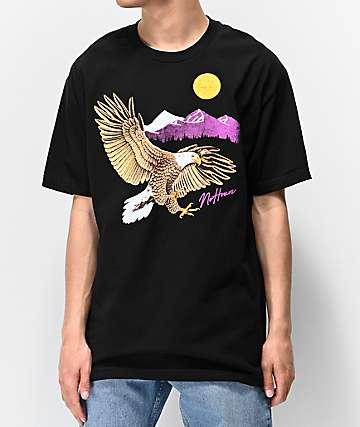 NoHours High Up Black T-Shirt
