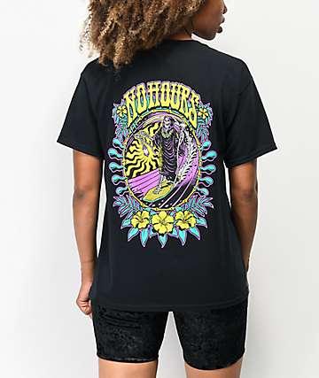 NoHours Last Ride Black T-Shirt