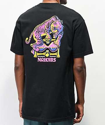 NoHours Le Tiger Black T-Shirt