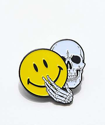 NoHours Nothing Lasts Pin