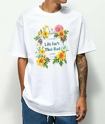 NoHours Rad White T-Shirt