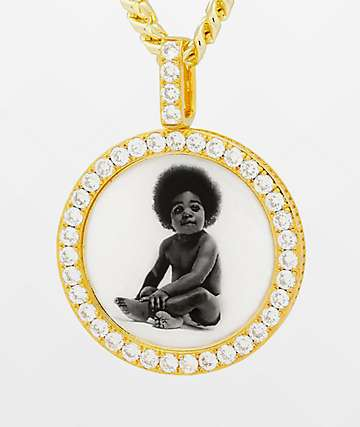 Notorious B.I.G. x King Ice Ready To Die Gold Necklace