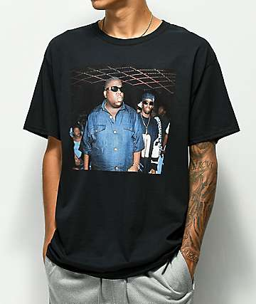 Notorious Big and Puff Black T-Shirt