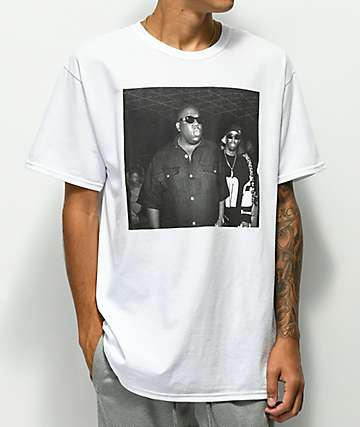 Notorious Big and Puff White T-Shirt