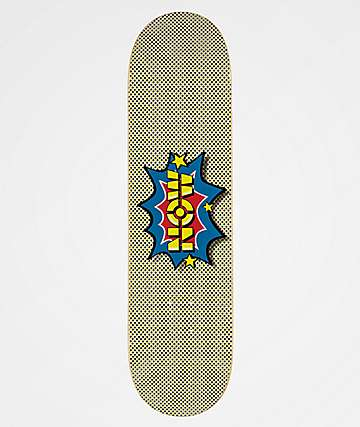 "Now Skateboards Pow Logo 8.0"" Skateboard Deck"