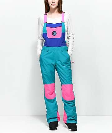 O'Neill 88' Shred 10K pantalones de babero de snowboard en rosa neón