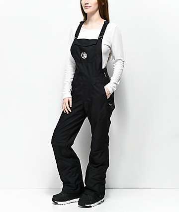 O'Neill 88' Shred 10K pantalones negros de babero de snowboard
