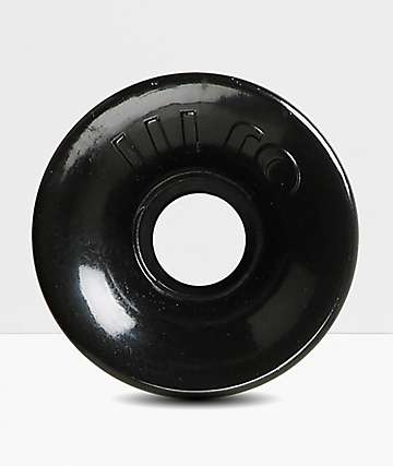 OJ III 60MM Hot Juice Black Longboard Wheels