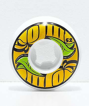 OJ III From Concentrate 52mm 101a Black & White Skateboard Wheels