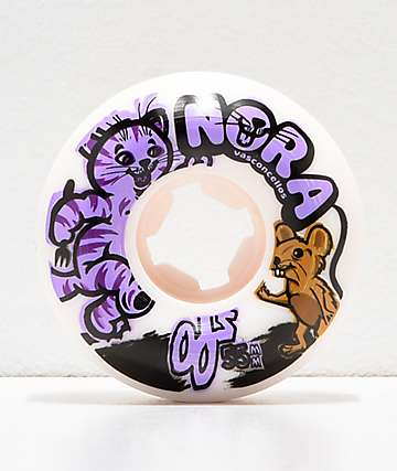 OJ Nora Cat And Mouse 55mm 101a Elite Skateboard Wheels
