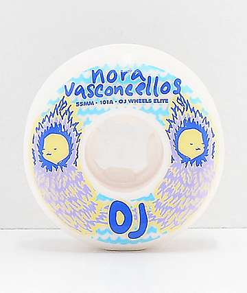 OJ Nora Waves 55mm 101a Elite Skateboard Wheels