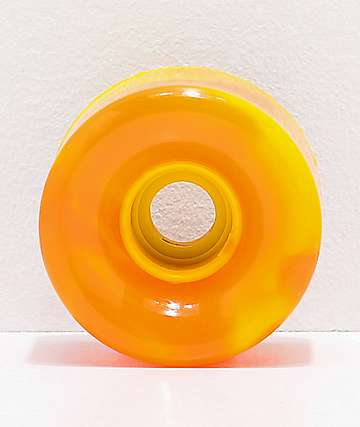 OJ Super Juice 60mm 78a Orange & Yellow Cruiser Skateboard Wheels