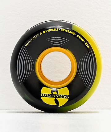 OJ x Wu-Tang Keyframe 87a 54mm Cruiser Skateboard Wheels