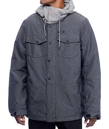 Oakley Division BZI chaqueta de snowboard 10K en azul Mirage