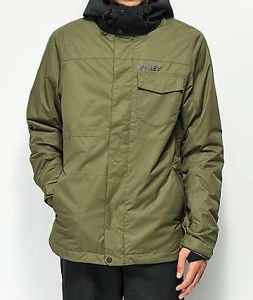Oakley Division BioZone 10K chaqueta de snowboard oliva