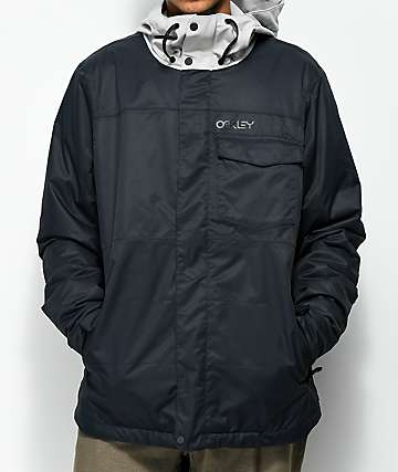 Oakley Division Black BioZone 10K Snowboard Jacket