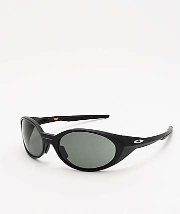 Oakley Eye Jacket Matte Black & Grey Prizm Sunglasses