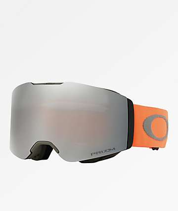 Oakley Fall Line Orange Brush PRIZM Black Snowboard Goggles