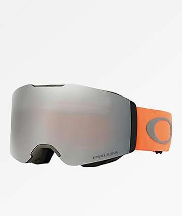 Oakley Fall Line PRIZM gafas de snowboard en negro y naranja
