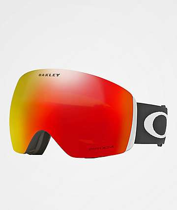 Oakley Flight Deck Matte Black & PRIZM Torch Iridium Snowboard Goggles