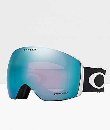 Oakley Flight Deck gafas de snowboard en negro y azul