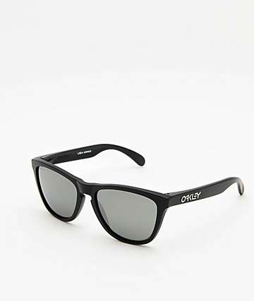 Oakley Frogskins Matte Black Prizm Polarized Sunglasses
